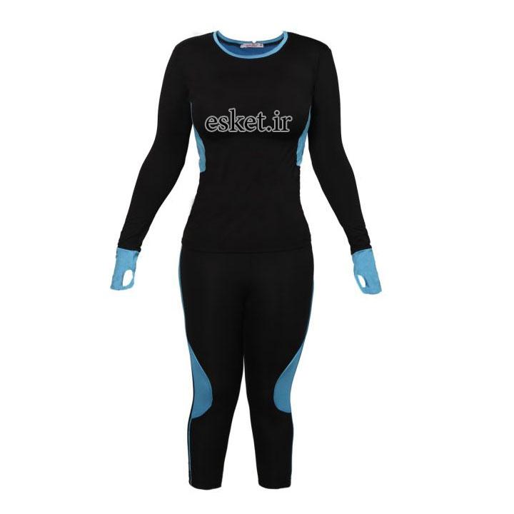 ست گرمکن و شلوار ورزشی گالیپولی مدل 9124 - گرمکن ورزشی زنانه زیبا و شیک