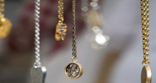 آویز ساعت طلا شیک و جذاب