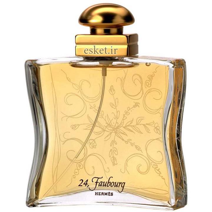 ادو پرفیوم زنانه هرمس مدل 24 Faubourg حجم 100میلی لیتر - عطر زنانه خوشبو با ماندگاری بالا