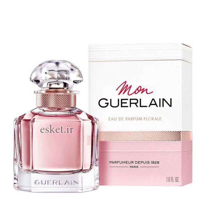 ادو پرفیوم زنانه گرلن مدل Mon Guerlain Florale حجم 100 میلی لیتر - عطر زنانه خوشبو با ماندگاری بالا