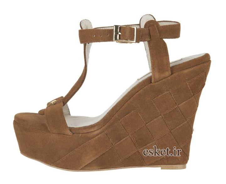 کفش مجلسی زنانه جذاب بوفالو لاندن مدل 140171