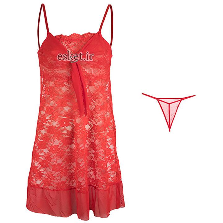لباس خواب زنانه مدل مارگاریتا کد 7 - ست لباس خواب زنانه زیبا