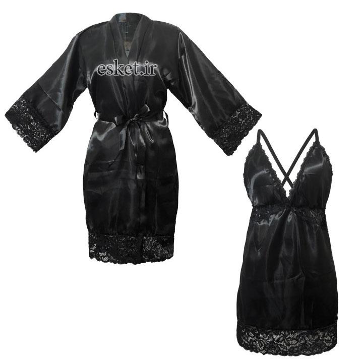 ست لباس خواب زنانه زیبا شیک فام کد 339
