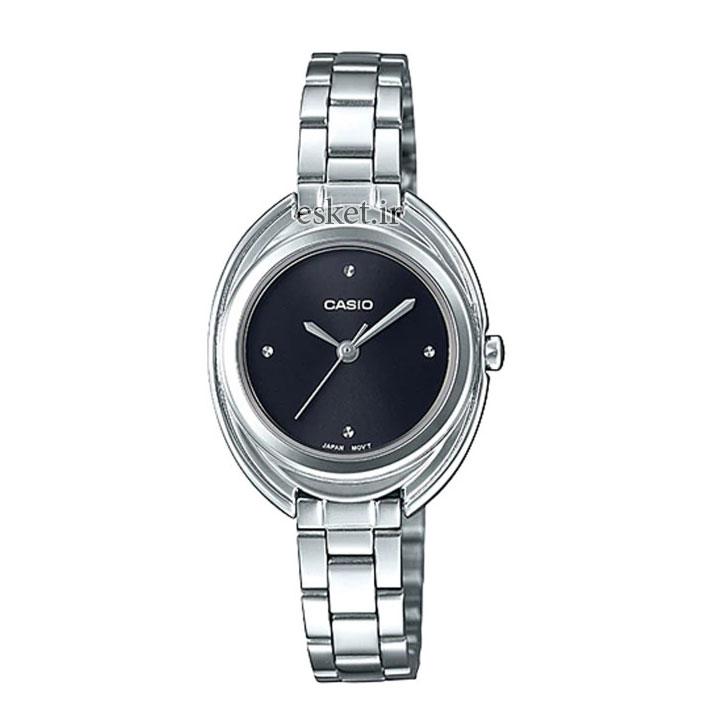 ساعت مچی زنانه کاسیو اصل مدل LTP-E166D-1CDF