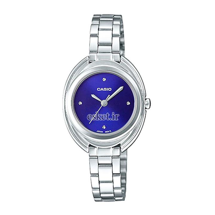 ساعت مچی زنانه کاسیو اصل مدل LTP-E166D-2CDF