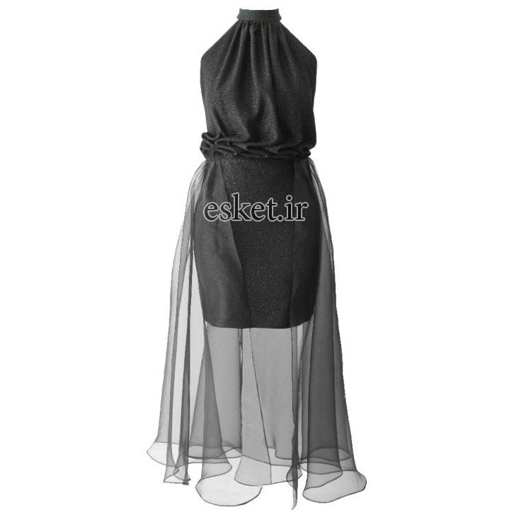 پیراهن مجلسی زنانه شیک جدید درس ایگو کد 1010022