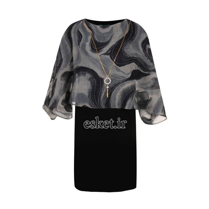پیراهن مجلسی زنانه شیک جدید السانا مدل ماهلین کد 75403