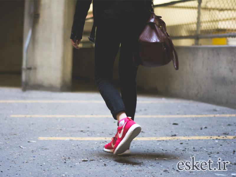 کفش مخصوص پیاده روی زنانه اصل