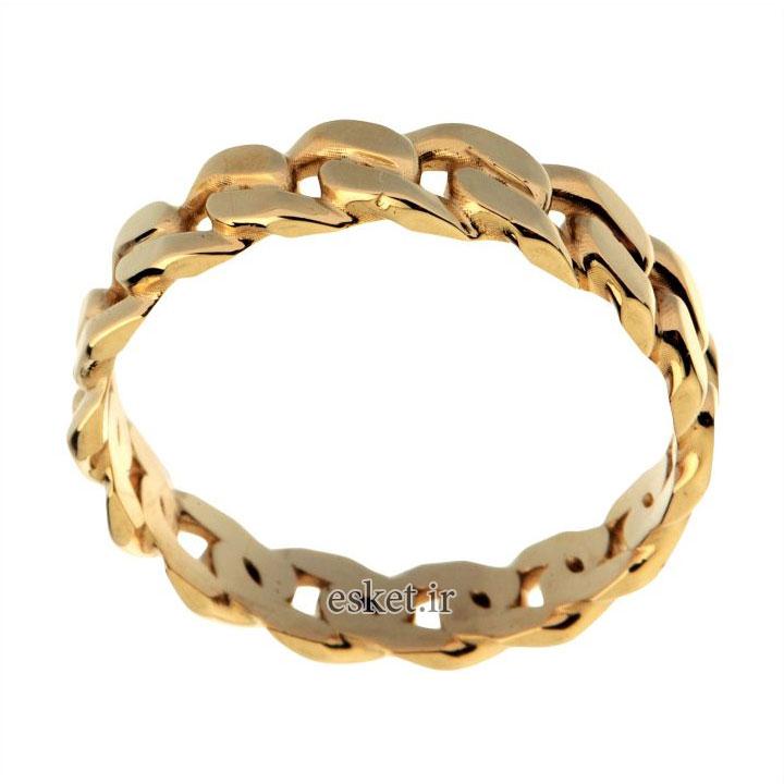 انگشتر طلا زنانه شیک و جدید 18 عیار زنانه مدل T16752