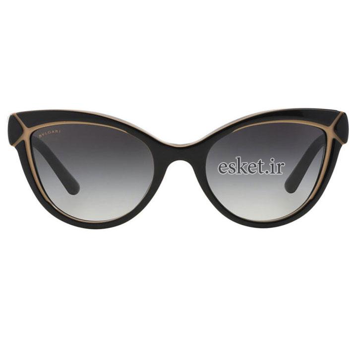 عینک آفتابی زنانه اصل بولگاری مدل BV-8156B-5400-53528G