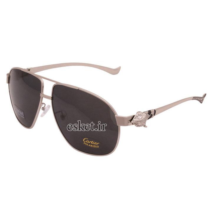 عینک آفتابی زنانه اصل کارتیه مدل 820097SR